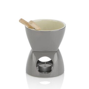 Kela - Leonia - zestaw do fondue czekoladowego - pojemność: 0,4 l