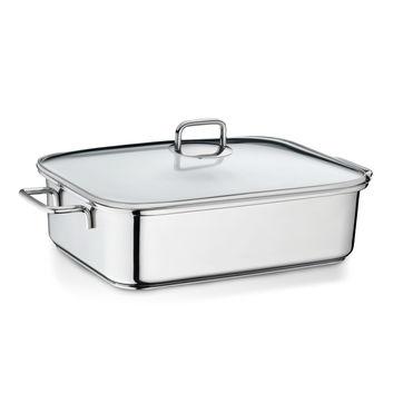 Kela - Ivo - brytfanna z wkładem do gotowania na parze - pojemność: 5,8 l