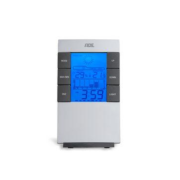 ADE - termometr pokojowy z higrometrem - wymiary: 8 x 4 x 14 cm