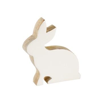 Villeroy & Boch - Bunny Tales - figurka - siedzący zajączek - wymiary: 12 x 2,5 x 13,5 cm