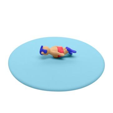 Lurch - My Lid - pokrywka silikonowa - nurkowanie - średnica: 10,5 cm