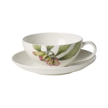 Villeroy & Boch - Malindi - filiżanka do herbaty ze spodkiem - pojemność: 0,2 l