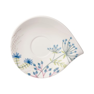 Villeroy & Boch - Flow Couture - spodek do filiżanki śniadaniowej - wymiary: 21 x 18 cm