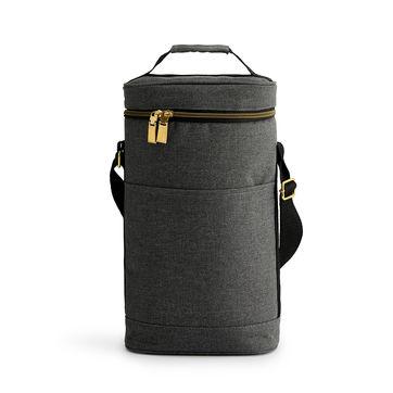 Sagaform - Outdoor - torba termiczna na 2 butelki City - wymiary: 22 x 11 x 36 cm