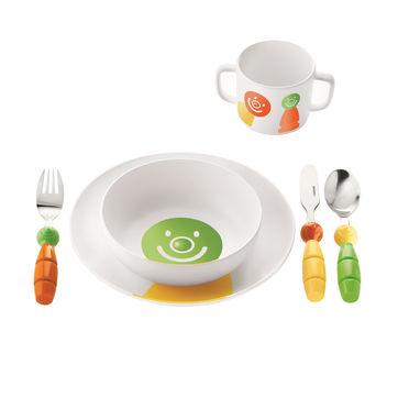 Guzzini - Billo - zestaw naczyń i sztućców dla dzieci - 6 elementów