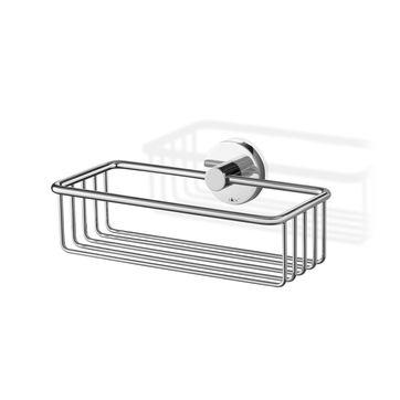 Zack - Scala - półka prysznicowa - długość: 23,5 cm; polerowana stal