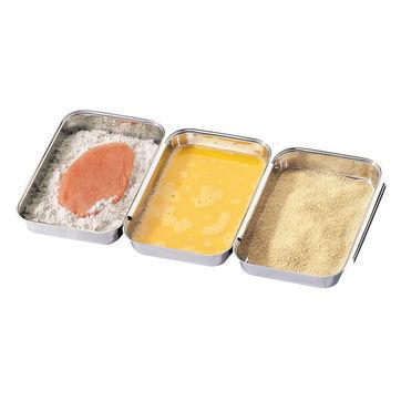 Küchenprofi - zestaw do panierowania - wymiary: 45 x 16 cm