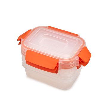 Joseph Joseph - Nest Lock - zestaw 3 pojemników na żywność - pojemność: 0,54 l