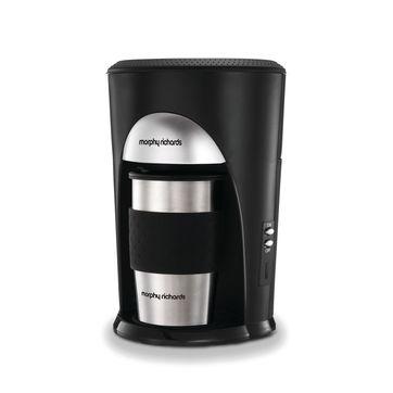 Morphy Richards - Coffee & Go - ekspres do kawy z kubkiem termicznym - pojemność: 0,3 l