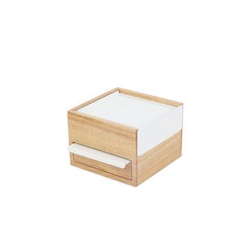 Umbra - Stowit - pudełka na biżuterię - wymiary: 16,5 x 15 x 11 cm