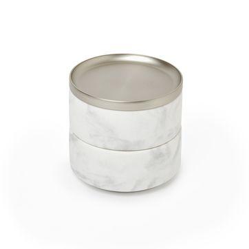 Umbra - Tesora - pudełko na biżuterię - średnica: 12,5 cm