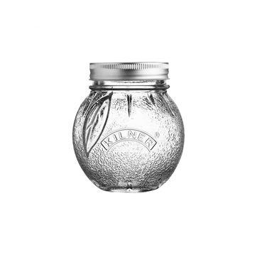 Kilner - Fruit Preserve Jar - słój do wekowania - pojemność: 0,4 l; pomarańcza