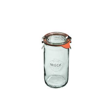 Weck - Zylinder - słój do wekowania - pojemność: 0,34 l
