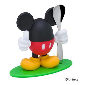 WMF - Myszka Miki - kieliszek na jajko z łyżeczką - wysokość: 14 cm