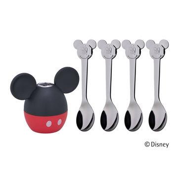 WMF - Myszka Miki - łyżeczki dla dzieci z solniczką - 5 elementów