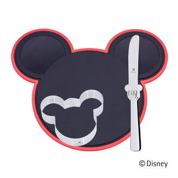 WMF - Myszka Miki - zestaw do krojenia dla dzieci - 3 elementy