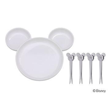 WMF - Myszka Miki - zestaw do serwowania owoców dla dzieci - 5 elementów