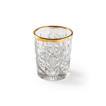 Libbey - Hobstar Gold - 2 szklanki do whiskey - pojemność: 0,35 l