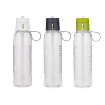 Joseph Joseph - Dot - butelki ze wskaźnikiem kontrolującym spożycie wody - pojemność: 0,75 l