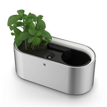 WMF - Ambient - doniczka na zioła z oświetleniem - wymiary: 33,5 x 15 x 12 cm