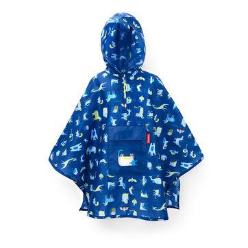 Reisenthel - mini maxi poncho kids - poncho przeciwdeszczowe dla dzieci - wymiary: 93 x 62 cm