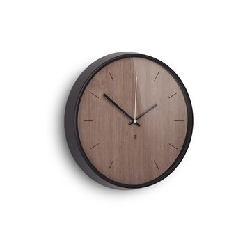 Umbra - Madera - zegar ścienny - średnica: 32 cm