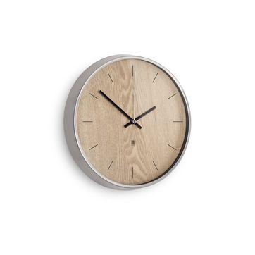 Umbra - Madera - zegary ścienne - średnica: 32 cm