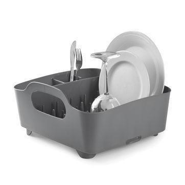 Umbra - Tub - suszarka do naczyń - wymiary: 38 x 35,5 x 19 cm