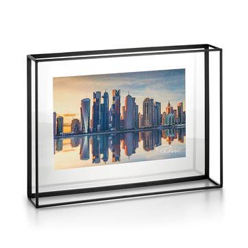 Philippi - Quarree - ramka na zdjęcia - wymiary: 40 x 30 x 8 cm