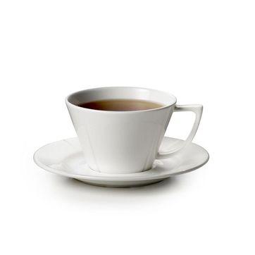 Rosendahl - Grand Cru - filiżanka do herbaty ze spodkiem - pojemność: 0,28 l