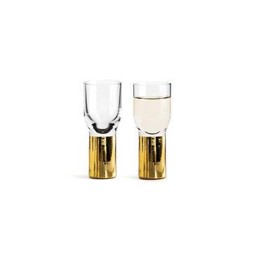 Sagaform - Club - 2 kieliszki do wódki - pojemność: 0,04 l; pudełko prezentowe
