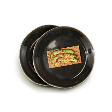 Sagaform - Nature - 2 talerze do serwowania - średnica: 22 cm
