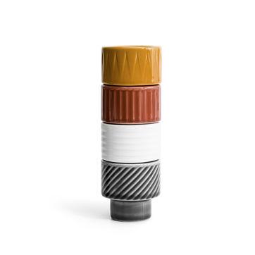Sagaform - Coffee - kieliszki na jajko lub świeczniki na tealight - wysokość: 5,5 cm