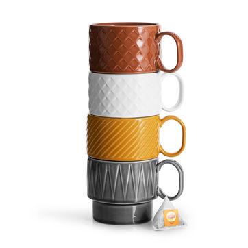 Sagaform - Coffee - filiżanki do herbaty - pojemność: 0,4 l