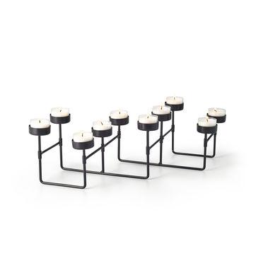 Philippi - Lab - świecznik na 10 tealightów - długość: do 60 cm