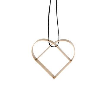 Stelton - Figura - zawieszka serce - wysokość: 5 cm