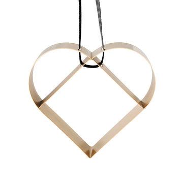 Stelton - Figura - zawieszka serce - wysokość: 9,5 cm