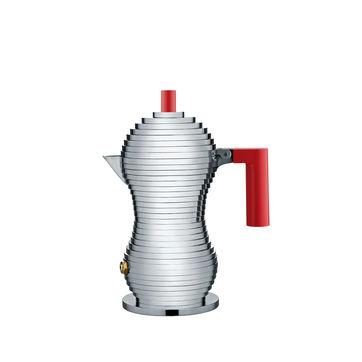 Alessi - Pulcina - kafeteria aluminiowa - pojemność: 0,07 l