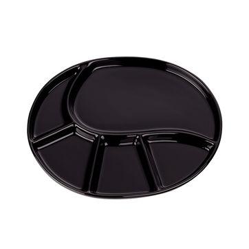 Kela - Vroni - talerze do fondue - wymiary: 28,5 x 22 cm