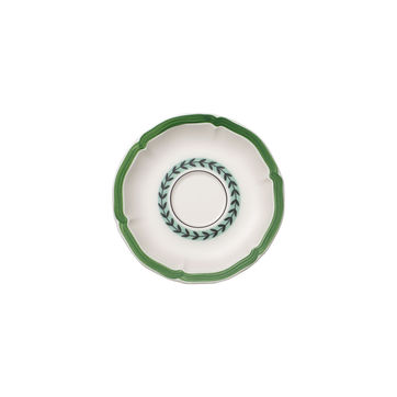 Villeroy & Boch - French Garden Green Line - spodek do filiżanki do kawy lub herbaty - średnica: 15 cm