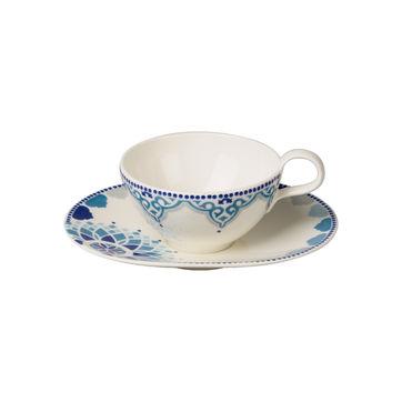 Villeroy & Boch - Tea Passion Medina - filiżanka do herbaty ze spodkiem - pojemność: 0,24 l