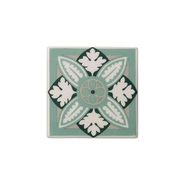 Villeroy & Boch - Jade Caro - 2 porcelanowe podkładki pod szklanki - wymiary: 11 x 11 cm