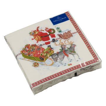 Villeroy & Boch - Winter Specials - serwetki papierowe - wymiary: 33 x 33 cm