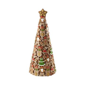 Villeroy & Boch - Winter Bakery 2019 - dekoracja świąteczna - piernikowa choinka - wysokość: 35 cm