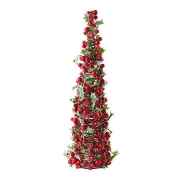 Villeroy & Boch - Winter Collage Accessoires - dekoracja świąteczna - borówki czerwone - wysokość: 46 cm