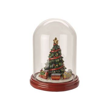 Villeroy & Boch - Christmas Toys 2019 - choinka pod kloszem - wysokość: 19,5 cm