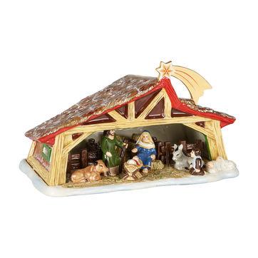 Villeroy & Boch - Christmas Toys Memory - lampion - szopka - wymiary: 27 x 16 x 16 cm