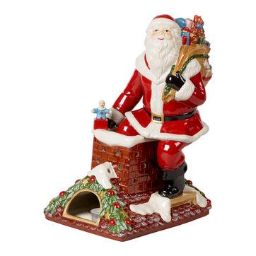 Villeroy & Boch - Christmas Toys Memory - lampion z pozytywką - Święty Mikołaj - wysokość: 32 cm