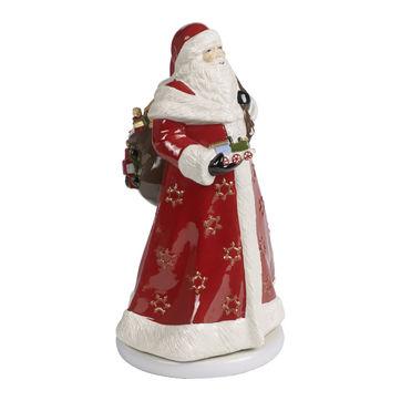 Villeroy & Boch - Christmas Toys Memory - pozytywka - Święty Mikołaj - wysokość: 34 cm