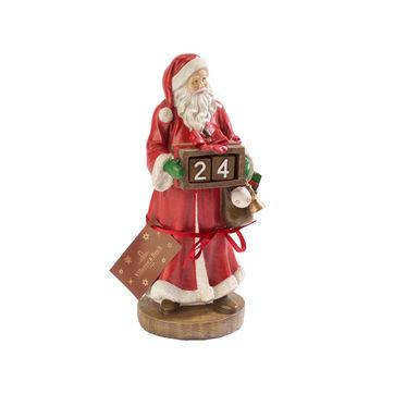 Villeroy & Boch - Christmas Toys 2019 - kalendarz adwentowy - Święty Mikołaj - wysokość: 23 cm
